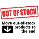 Sort products in-stock first