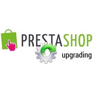 Обновление сайта на PrestaShop