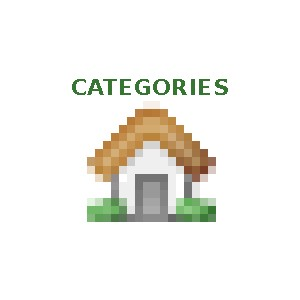 Categories on the homepage