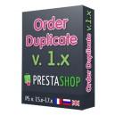 Duplicate order
